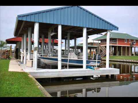 Fort beauregard marina boat slip for sale youtube