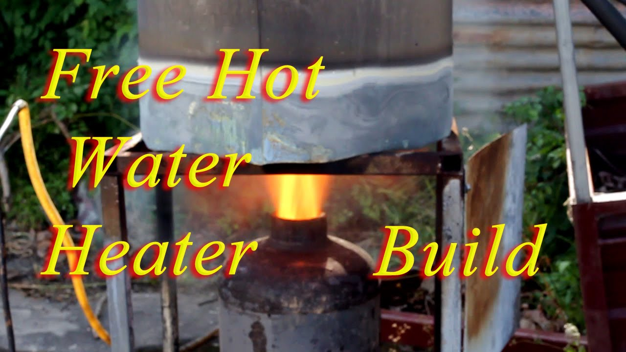 How To Build A Water Heater To Run On Free Fuel Youtube