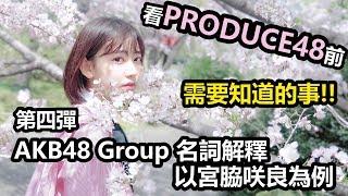 |看Produce 48前需要知道的事!|第四彈 AKB48 Group名詞解釋 AKB48 検索動画 17