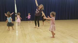Violet's first dance lesson part two