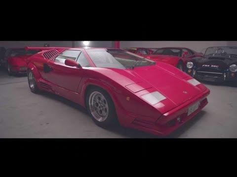 Lamborghini Countach 25th Anniversary Is Amazing Driven Youtube