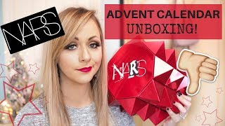 NARS UNCENSORED BEAUTY ADVENT CALENDAR 2018 UNBOXING - LADY WRITES
