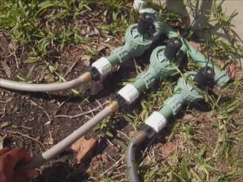 DIY Sprinkler System U0026 Lawn Maintenance   YouTube