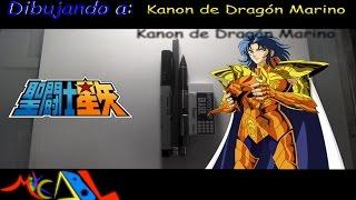 Dibujando a: Kanon de Dragon Marino