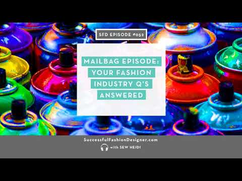 SFD052: Mailbag! Your fashion industry Q's answered