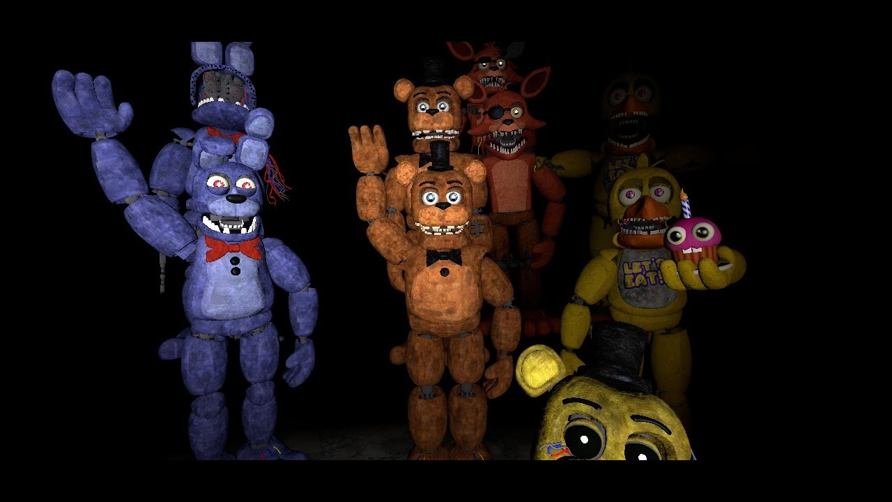 Withered Animatronics Images - Reverse Search