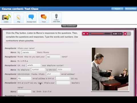 Touchstone Online English Program: Online Workbook