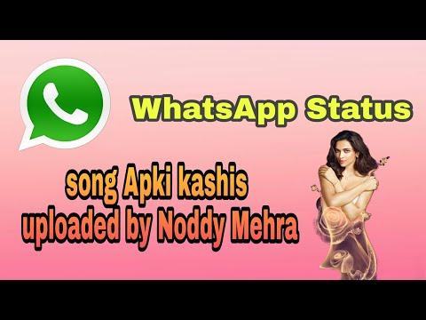 #whatsup Status Duba Rahu Sada Tere Khayalo Mein