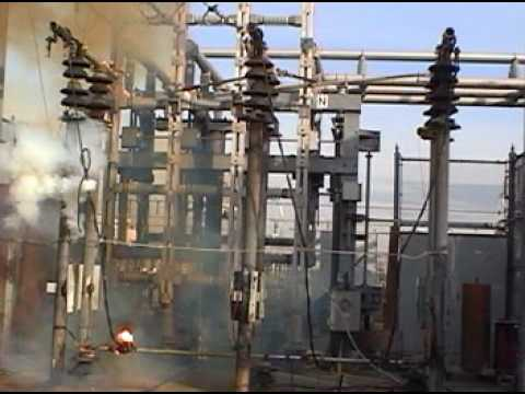 Failed test of high voltage ground set youtube failed test of high voltage ground set publicscrutiny Choice Image