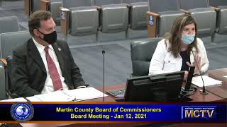 Martin County Board of County Commissioners Meeting, Tuesday, December 8