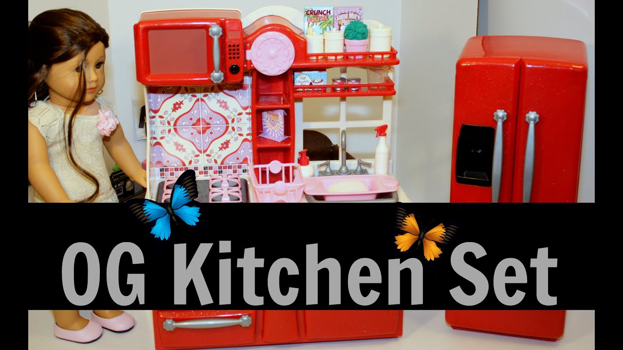 Our generation kitchen set unboxing reviewing for Doll kitchen set