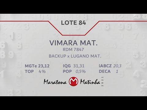 LOTE 84 Maratona Matinha