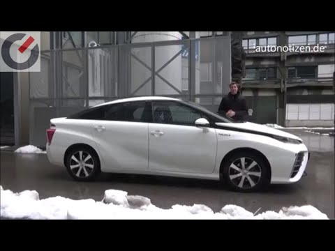 Toyota Mirai - Der Alltag Mit Dem Brennstoffzellenauto Mit Tanken Von Wasserstoff
