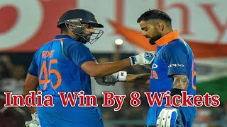India vs West Indies 1st one day full highlights | India win by 8 wickets | ind vs wi | NEWS SRW
