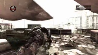 DID HE REALLY GLITCH OUT? -_- (Gears of War 2) Guardian on Hail With TheRazoredEdge!