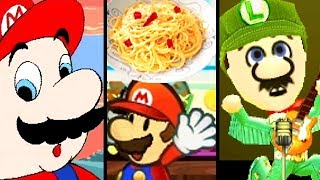 Super Mario Memes EVOLUTION of SPAGHETTI