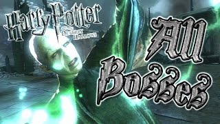 Harry Potter and the Deathly Hallows All Bosses   Final Boss (PS3, X360) + Ending