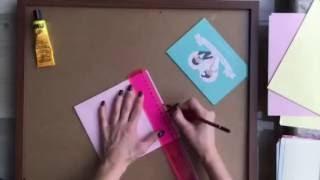 Как сделать конверты своими руками! мастер-клас от Надежды Кабиной