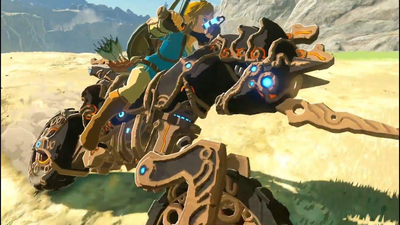 Zelda Breath Of The Wild Master Cycle