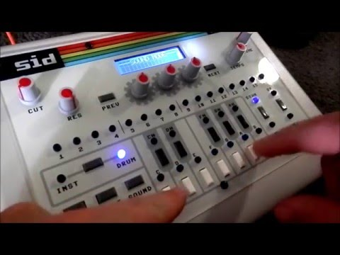 SID chip synth sequencer: Radicalized C64 sound system!