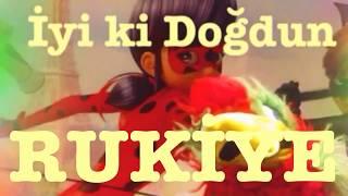 İyi ki Doğdun RUKİYE )  Komik Doğum günü Mesajı 1. VERSİYON ,DOĞUMGÜNÜ VİDEOSU Made in Turkey ) 🎂