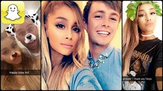 Ariana Grande - Snapchat Video Compilation (Best 2016★)