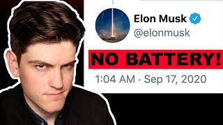 He TANKED tesla stock... | BATTERY DAY 2020