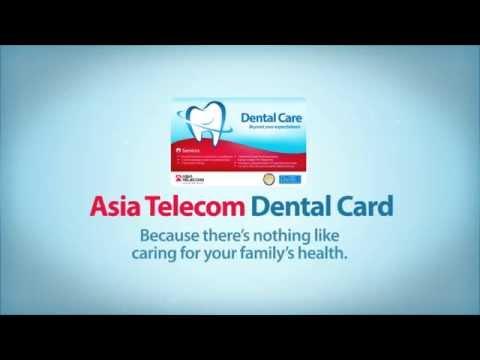Asia Telecom Dental Card