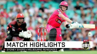 Smith, Philippe all class as clinical Sixers reclaim second | KFC BBL|09