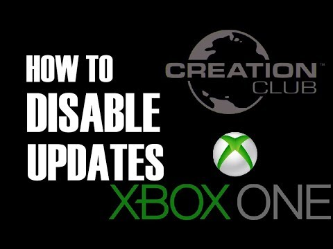 Creation Club - How To Disable Updates on Xbox One