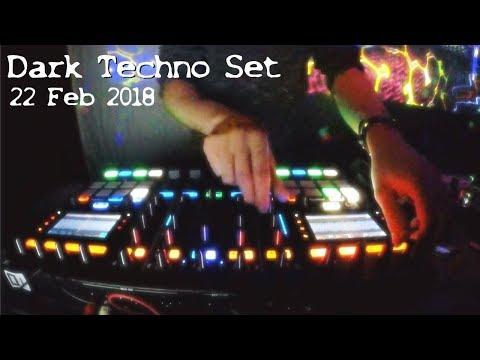 Dark / Hard Techno ( Underground ) Set - DopeAmine @Donnersdance (22. Feb 2018)
