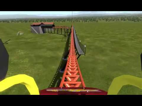 Nolimits 2 : Weird Coaster From My Dream The Other Day. (WIP)