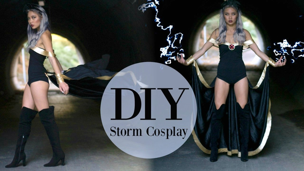 Diy Storm Cosplay Sew Tell