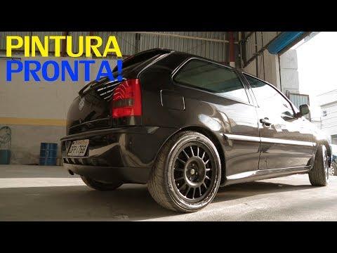 PINTURA DO GOL PRONTA (pt. 4/4) - FT. Podium Centro Automotivo  - Projeto VW Gol #32