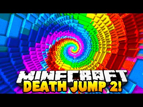 Minecraft - DEATH JUMP PARKOUR 2! - w/Preston & Nooch