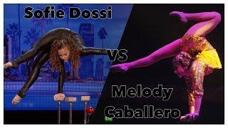 Sofie Dossi VS Melody Caballero