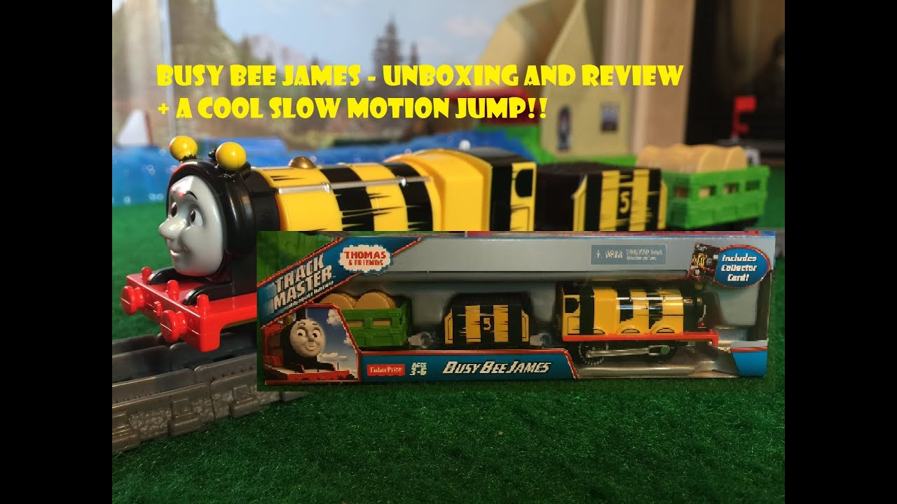 Busy Bee James Thomas and Friends Trackmaster Engine! Unboxing and ...