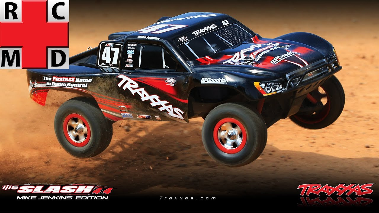 The R C M D 1 10 Traxxas Slash 4x4 VXL Review