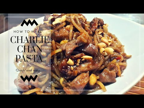 Charlie chan pasta: yellow cab inspired recipe