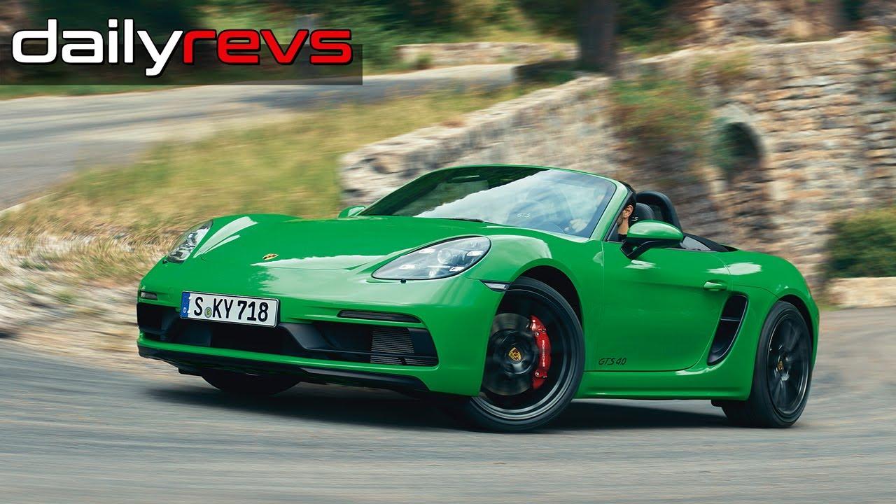 2020 Porsche 718 Boxster GTS 4.0 | Python Green | Driving & Design