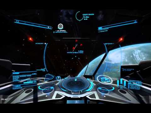 Elite Dangerous: The Lugh Battle continues.  For the Federation!