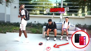 dropping-an-iphone-11-at-school-honesty-social-experiment