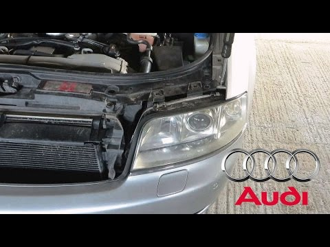 AUDI A6 C5 Headlight Removal DIY / How To Remove Headlights From Audi A6
