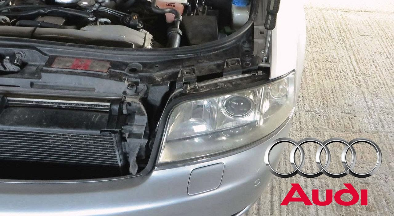small resolution of audi a6 s6 rs6 allroad c5 1997 2004 headlight removal diy how to remove the headlights youtube