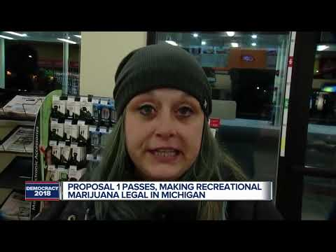 Proposal 1 passes in Michigan legalizing recreational marijuana