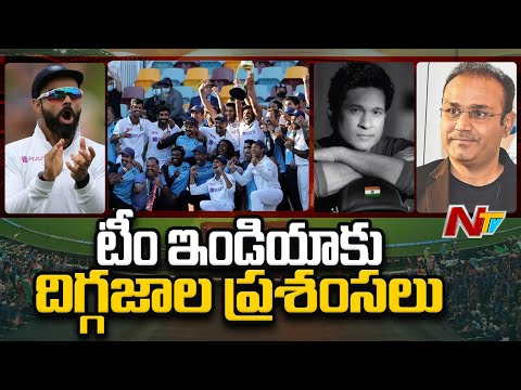 Celebrities congratulate Team India for stunning victory against Australia | NTV Sports