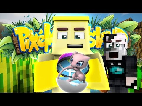 POKEMON HUYỀN THOẠI ĐẦU TIÊN (Minecraft Pixelmon Island SMP #2)
