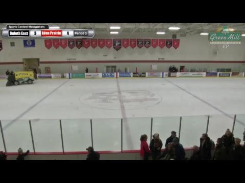 Minnesota High School Hockey | Duluth East at Eden Prairie