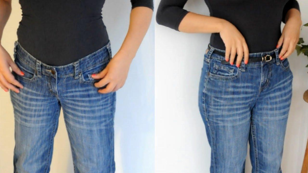 Transforma Tus Jeans De Cintura Baja A Cintura Alta Youtube
