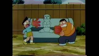 Two Idiots Punch A Concrete Boy [Doraemon ドラえもん 1979 Clip]